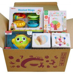 ちゃちゃちゃのおもちゃサブスクの箱