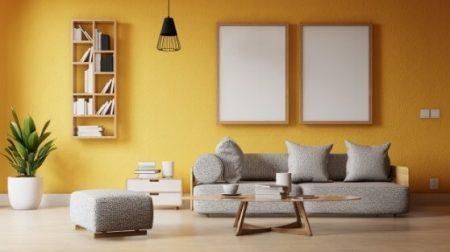 クラスの北欧系家具の部屋