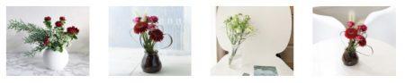 モダンコースのお花の種類